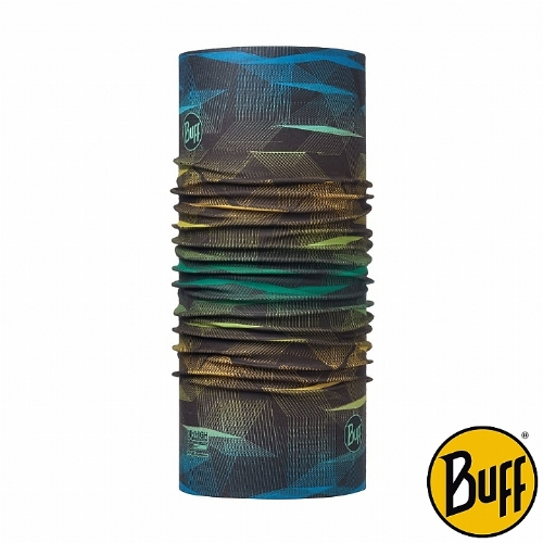 BUFF 黃藍冥想 COOLMAX抗UV頭巾