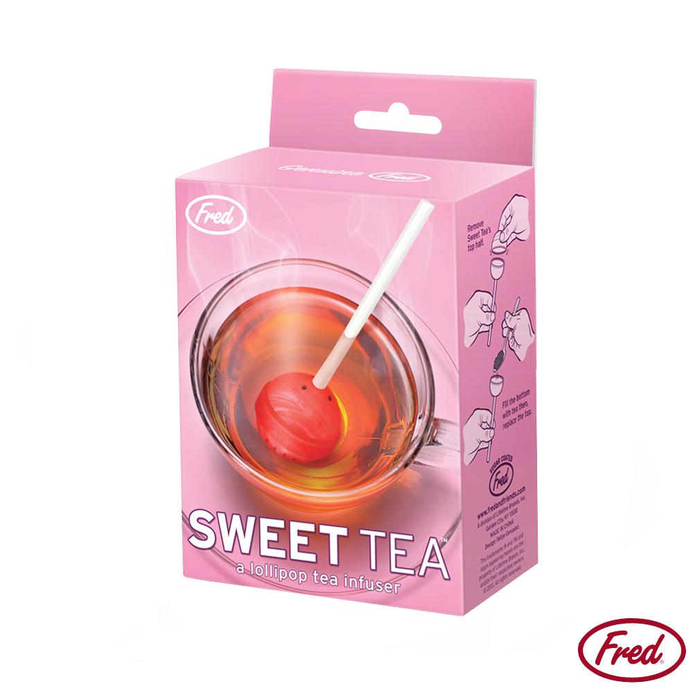 美國FRED 棒棒糖造型濾茶器
