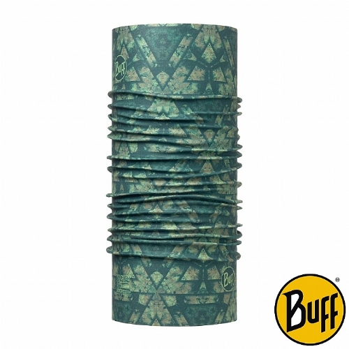 BUFF 百慕達綠印 COOLMAX抗UV頭巾