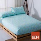 【DON 花漾歲月】單人二件式蜜絲絨床包枕套組