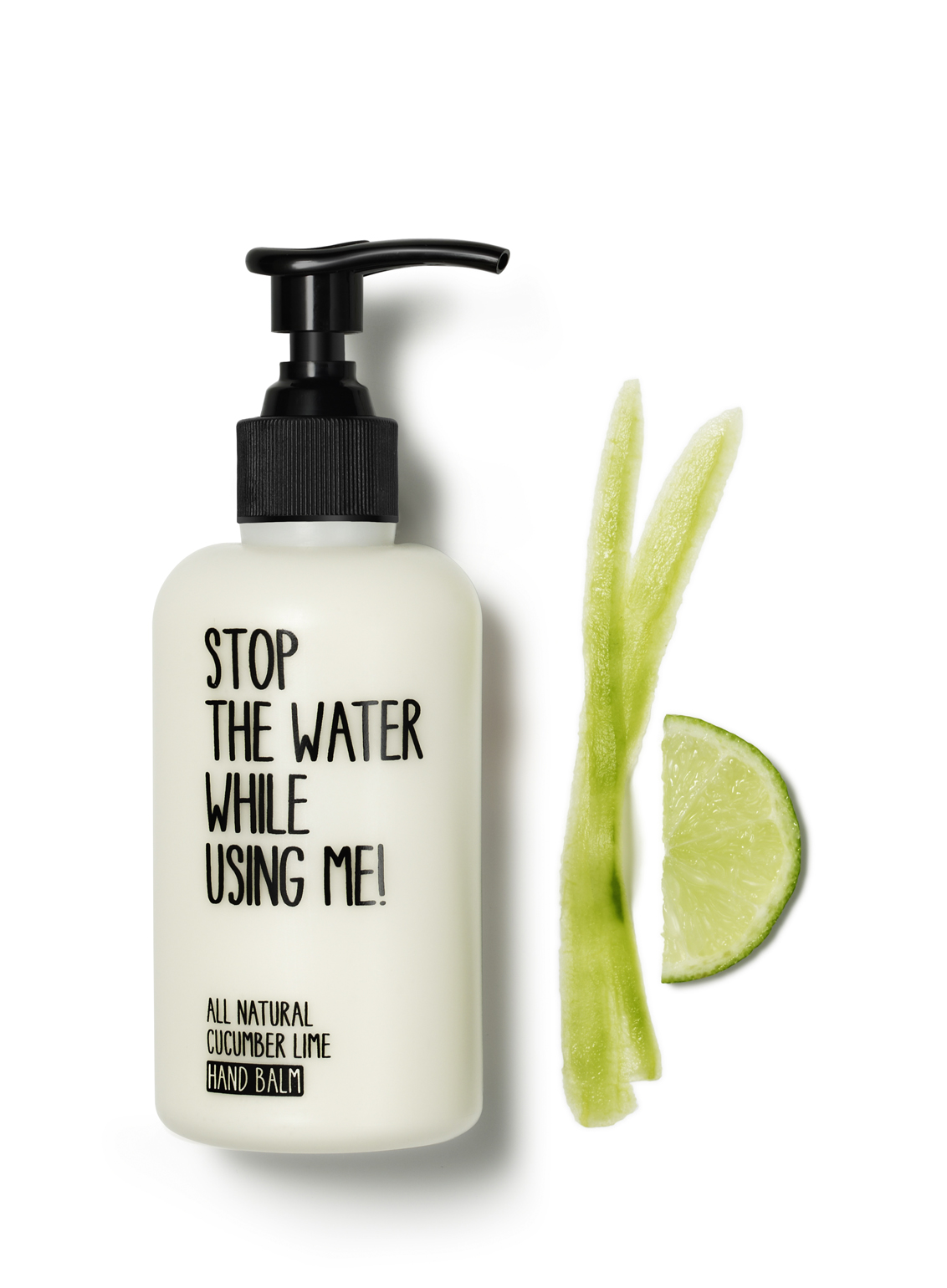 Stop the water while using me 小黃瓜青檸護手乳霜200ml