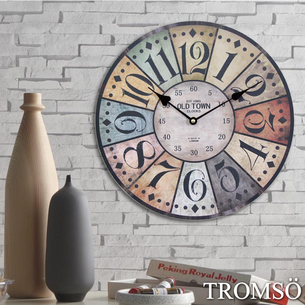 TROMSO 時尚無框畫時鐘