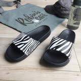 iSlippers 動能系列-Q軟厚底運動拖鞋-斑馬