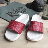 iSlippers 動能系列-Q軟厚底運動拖鞋-RUNNING紅