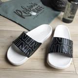 iSlippers 動能系列-Q軟厚底運動拖鞋-RUNNING黑