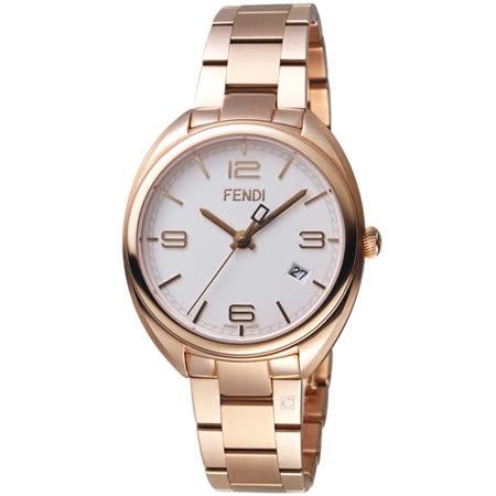 芬迪 FENDI Momento系列時尚環紋腕錶 F211534000