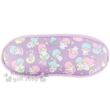 〔小禮堂〕雙子星 眼罩《紫.滿版.兔子》輕薄透氣材質