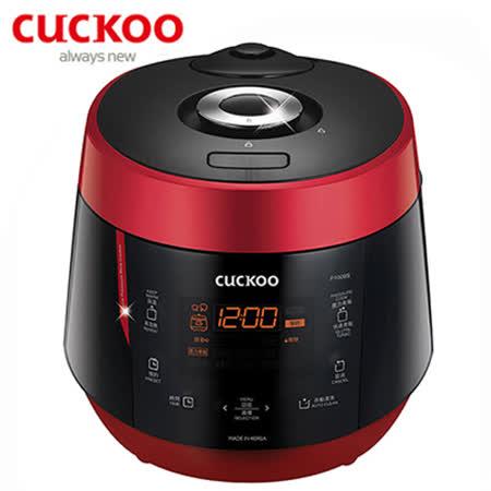 【韓國CUCKOO福庫】10人份真高氣壓智慧型電子鍋 CRP-P1009S-R