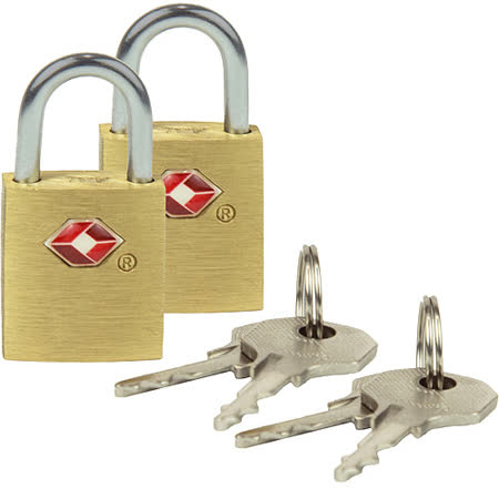 《TRAVELON》TSA行李鑰匙鎖2入