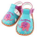 【愛的世界】LOVEWORLD 東方小旅行寶寶鞋/涼鞋//13CM~15CM-台灣製-