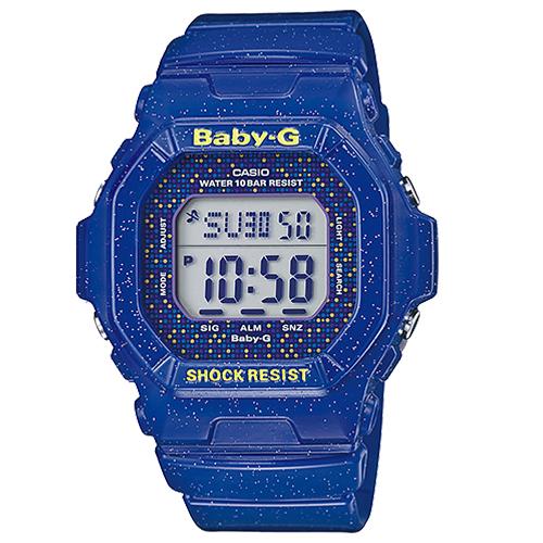 CASIO 卡西歐 BABY-G 日本版 繽紛時尚潮流雙顯運動女錶BG-5600GL-2JF