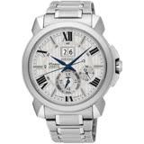 SEIKO 精工Premier 萬年曆時尚腕錶(銀/43mm) SNP139J1/7D56-0AE0S