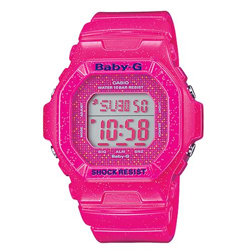 CASIO 卡西歐 BABY-G 日本版 繽紛時尚潮流雙顯運動女錶 BG-5600GL-4JF