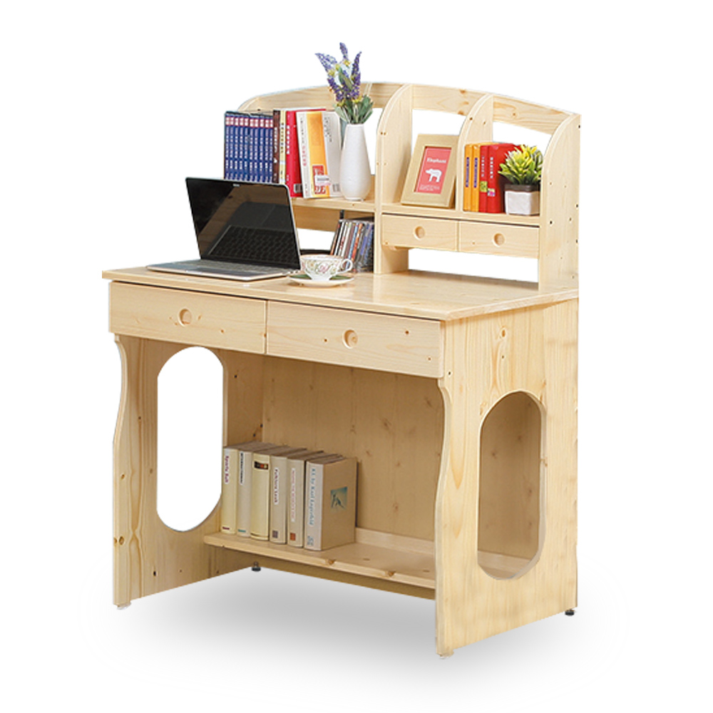 HAPPYHOME 松木3.1尺書桌NM7-60-6免運費