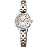 WIRED F 晶鑽女錶(AC3V09X1)-銀x半金/22mm 1N01-X216KS情人送禮