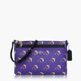COACH 輕便小包 PVC / 側背 / 斜背包(特殊款) 紫黑