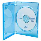 DigiStone 藍光DVD Logo燙銀單片精裝軟盒(25片)