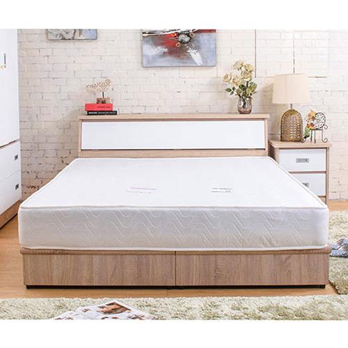 【ABOSS】艾迪5尺耐磨梧桐色收納床頭箱(#5112-1451)