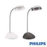 【飛利浦PHILIPS】 酷樂 LED檯燈 66027黑/白