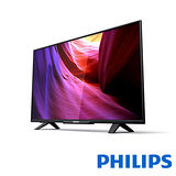 【飛利浦PHILIPS】 43吋IPS Full HD LED液晶顯示器+視訊盒43PFH5210