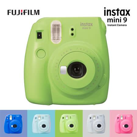 FUJIFILM instax mini 9 mini9 拍立得相機  貨 ~加送空白底片