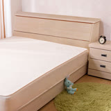 【ABOSS】麗可5尺雙人浮雕雪松色收納床頭箱