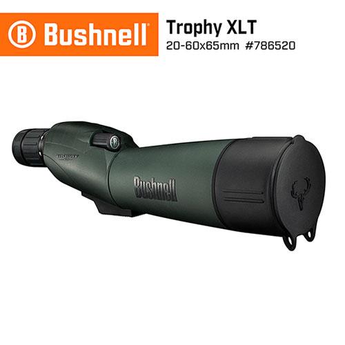 美國 Bushnell 倍視能 Trophy XLT 錦標系列 20-60x65mm 專業級賞鳥型單筒望遠鏡 786520 (公司貨)