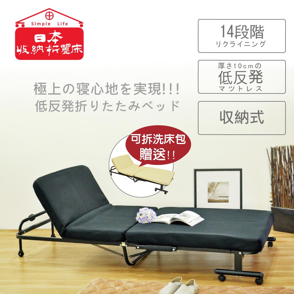 安全防夾手設計 專利14段折疊床