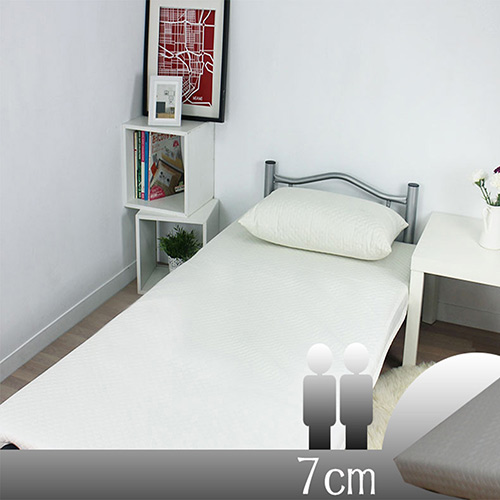 【KOTAS】日式高支撐複合式記憶床墊(7cm雙人)