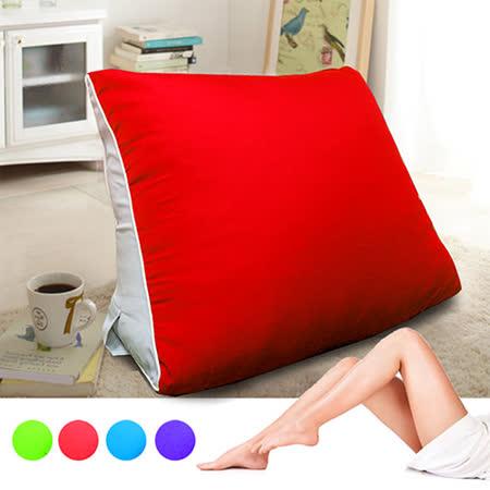 【KOTAS】大型滾邊抬腿記憶枕/靠枕