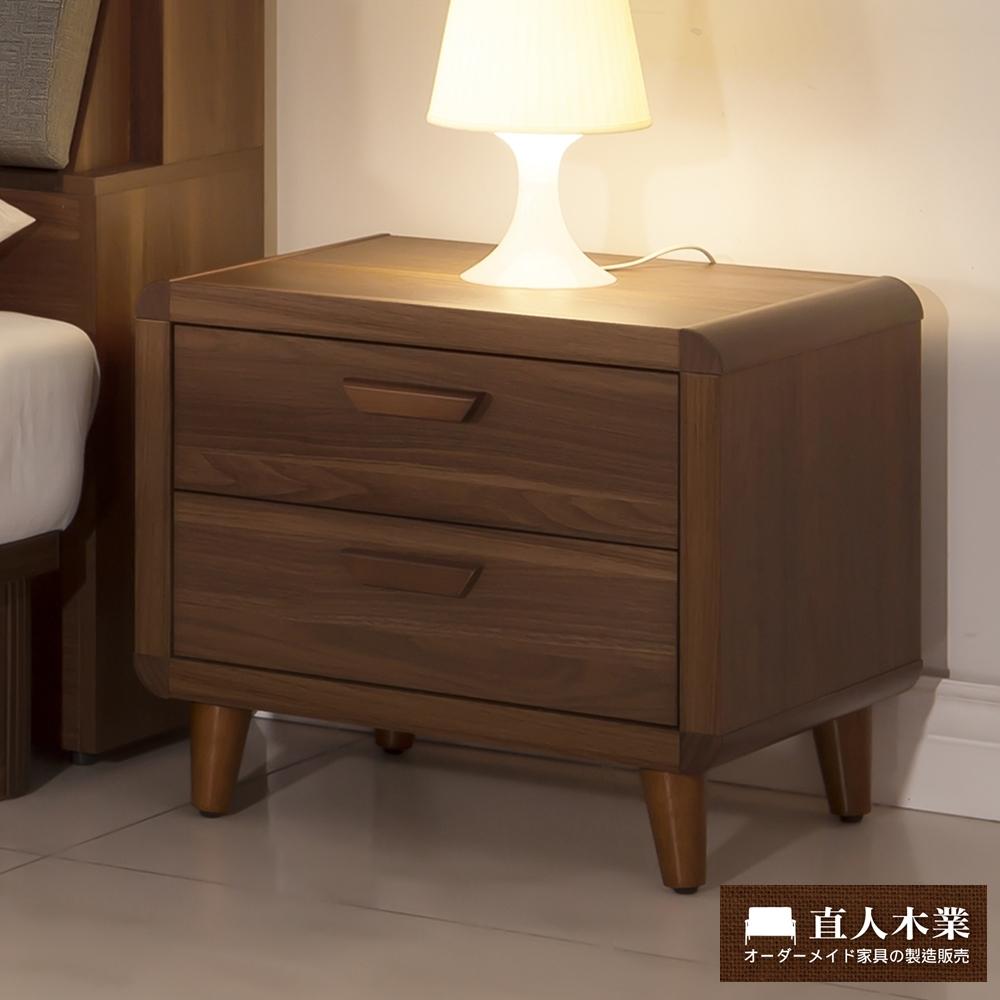日本直人木業-wood北歐生活55CM床頭櫃/抽屜櫃/斗櫃