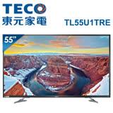 TECO東元 55吋真4K Smart連網液晶顯示器+視訊盒(TL55U1TRE)