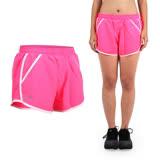 (女) UNDER ARMOUR HG FF 1.0 慢跑短褲-三分褲 訓練 路跑 桃紅粉