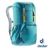 【德國 Deuter】WALKER 20 輕量透氣休閒旅遊背包20L/Airstripes通風背負系統.人體工學的柔軟肩帶 3810617 湖綠/深藍