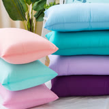 ANNABELLE台灣製造吸濕排汗繽紛水洗抗菌枕(1入)