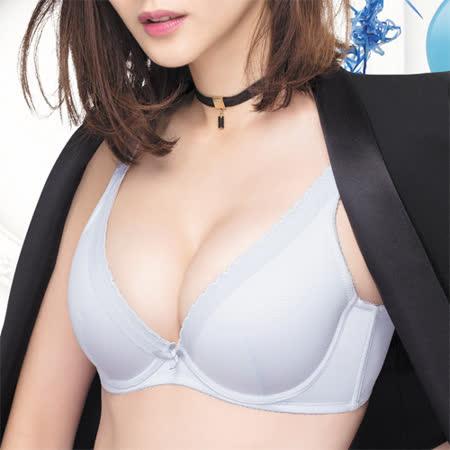 【莎薇】 深V粉水好素配內衣