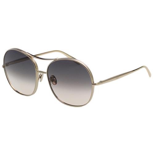 CHLOE太陽眼鏡 帥氣雷朋款框-金色框-CE127S-744