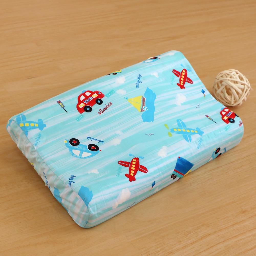鴻宇HongYew《夢想號》防蹣抗菌 100%天然幼童乳膠枕