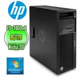 HP 惠普 Z440 四核工作站【E5-1603V4 8G 1TB NVIDIA NVS 310 專業繪圖卡 Win7Pro】