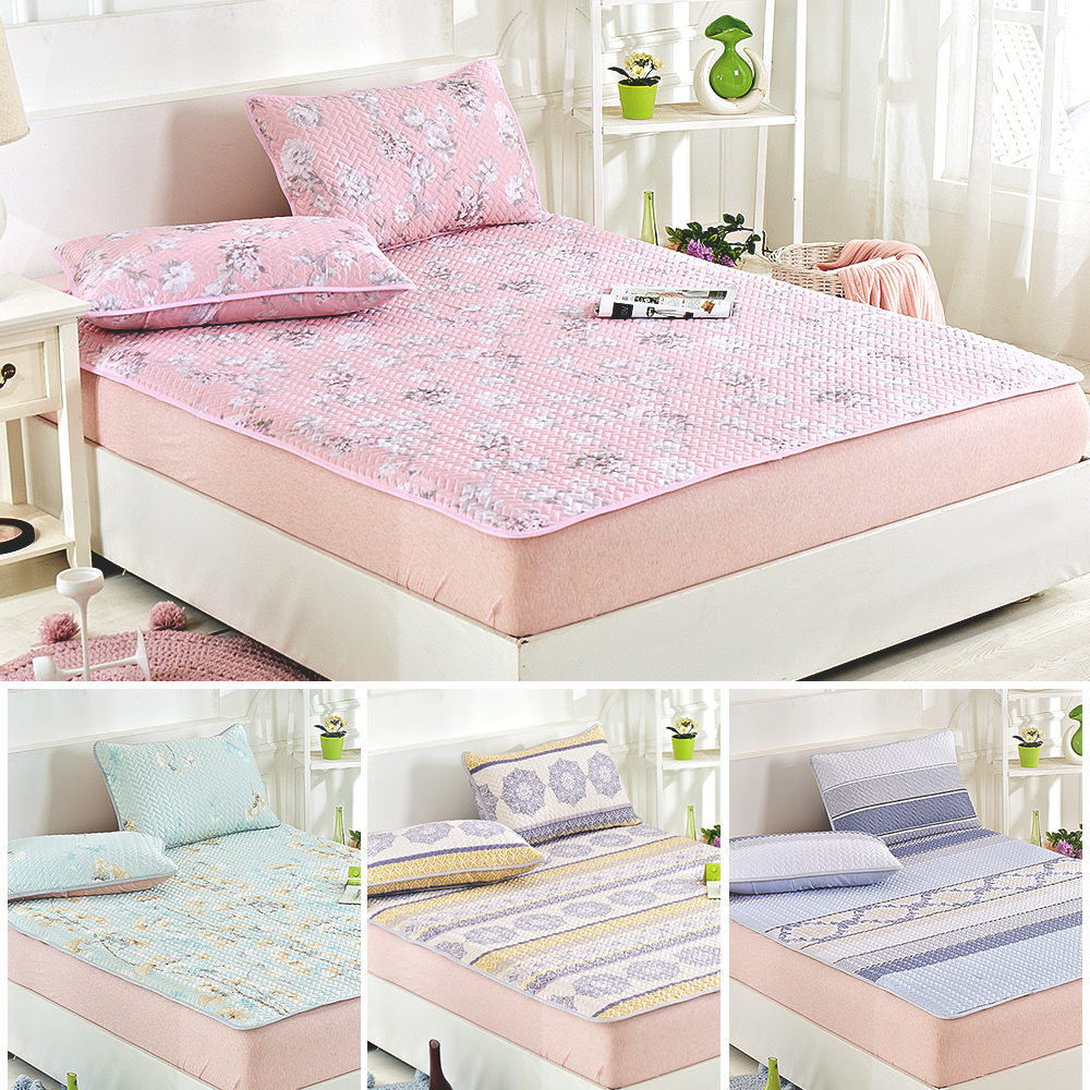 Lily Royal 天絲~單人平單式涼蓆 軟蓆枕套組~多款