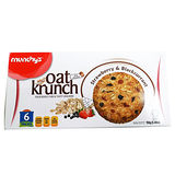 MUNCHYS草莓黑加栗燕麥餅 156g