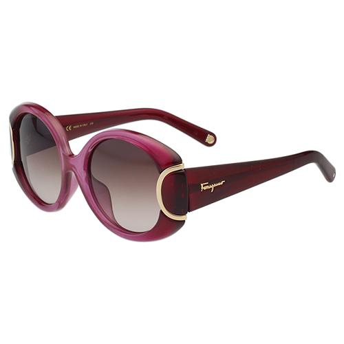 Salvatore Ferragamo廣告款 太陽眼鏡(漸層桃)