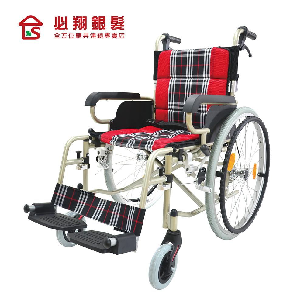 【必翔銀髮】輕便手動輪椅 PH-164(未滅菌)
