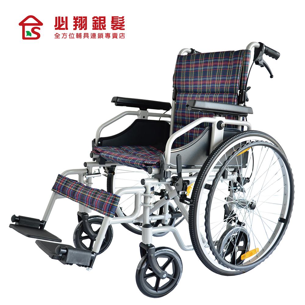 【必翔銀髮】快拆兩用型輪椅 PH-168(未滅菌)