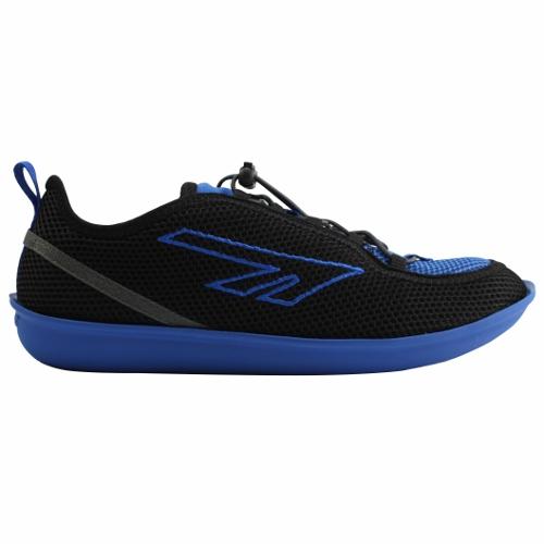 (HI-TEC)英國超輕著感ZUUK絲瓜鞋(男)黑/藍O002333022
