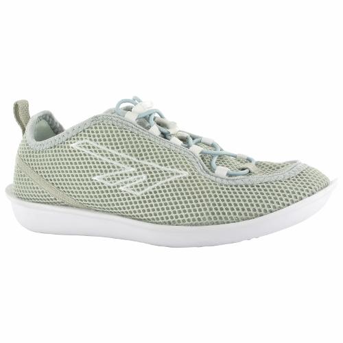 (HI-TEC)英國超輕著感ZUUK絲瓜鞋(女)芽白綠O002518062
