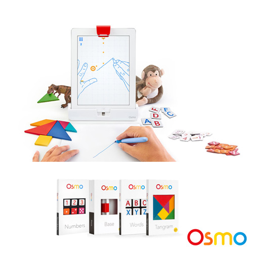 Osmo 虛實互動遊戲系統+數字計算遊戲配件盒