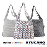 TUCANO X MENDINI 設計師系列超輕量折疊收納輕鬆購物袋