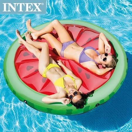 【INTEX】 西瓜戲水浮排