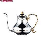 Tiamo 0921不鏽鋼細口壺(宮廷壺) 420ml (HA8561)